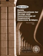 Guide Specifications for Design and Construction of Segmental Concrete Bridges 1999