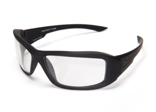 00a76df631 Edge Tactical Eyewear XH611TT Hamel Thin Temple - Black Clear Lens ...