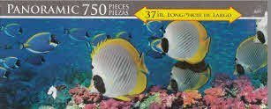 Buterfly Fish a Panoramic 750 Piece Puzzle