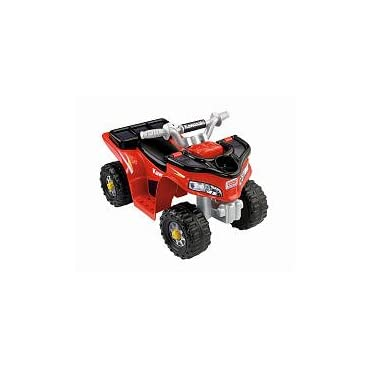 Power Wheels Fisher-Price Lil Kawasaki Boys Sport Quad