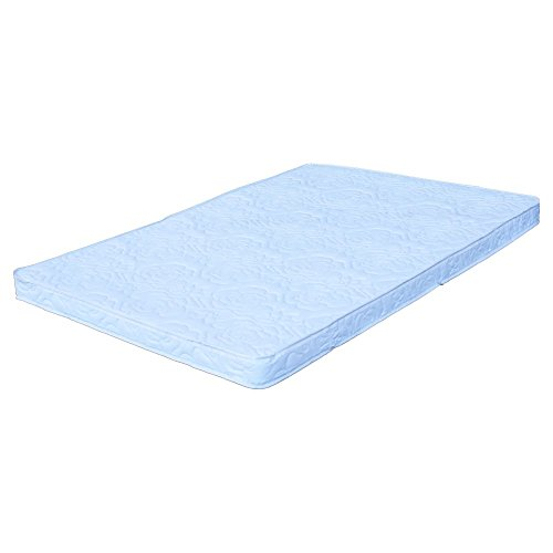 "Colgate Portable Mattress - 26"" x 37"" x 2"" Rectangular Foam Pad with Waterproof White Quilted Cover - 1"