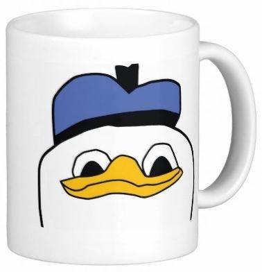 Pair Of Dolan Coffee 11 Ounce Mugs - Custom Coffee / Tea Cups - Dishwasher And Microwave Safe