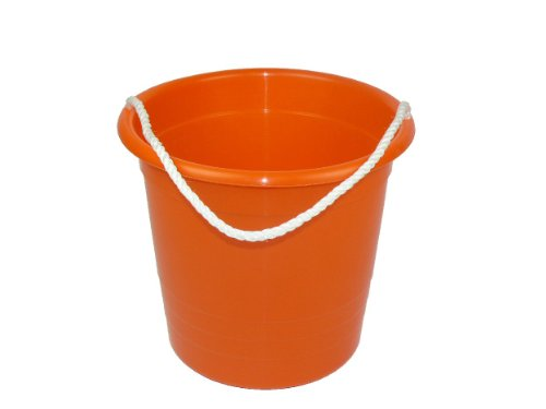 Romanoff Rope Pail:Orange
