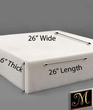 "Why Choose Foam Padding 6"" x 26"" x 26"""