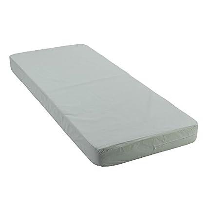 Drive Medical Bed Renter Densified Fiber Mattress, Green, 80 Inch