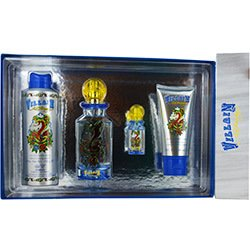 Christian-Audigier-Ed-Hardy-Villain-Mens-4-Piece-Gift-Set-42-Ounce