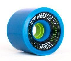 Landyachtz Mini Monster Hawgs 70mm 78a Longboard Wheels (Blue) (Hawgs Mini Monster compare prices)