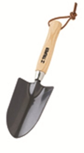 Truper 30621 Floral Garden Tool Trowel, Ash Handle, 6-Inch
