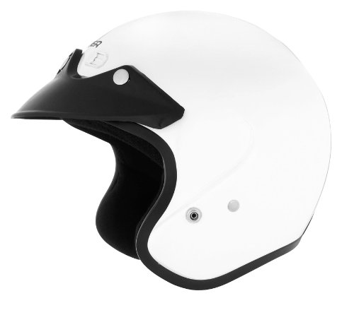 Cyber Helmets U-6 Solid Helmet , Size: Lg, Primary Color: White, Distinct Name: White, Helmet Category: Street, Helmet Type: Open-face Helmets, Gender: Mens/Unisex 641253