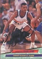 Winston Garland Denver Nuggets 1993 Fleer Ultra Autographed Hand Signed Trading Card. by Hall+of+Fame+Memorabilia