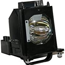 Electrified Replacement Lamp with Housing for WD-60C9 WD60C9 for Mitsubishi Televisions