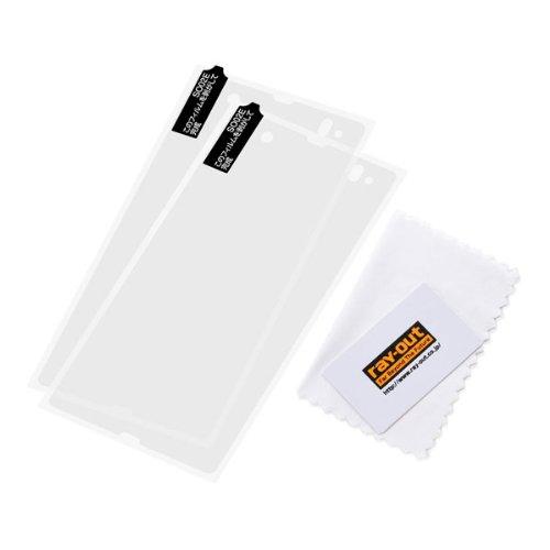 レイ・アウト docomo Xperia Z SO-02E用 ハードコーティング・シェルジャケット/クリアRT-SO02EC3/C