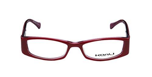 New & Season & Genuine - Brand: Koali Style/model: 6550k Gender: Womens/Ladies Ophthalmic Elegant Designer Full-rim Eyeglasses/Eyeglass Frame (50-16-135, Raspberry / (Atlanta Braves Skin Suit Kids Costume)