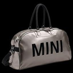 MINI Cooper Genuine Factory OEM Big Duffle Bag (Silvertone)