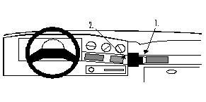 brodit-proclip-kit-de-coche-para-ford-taurus-89-90-angulo-de-montaje