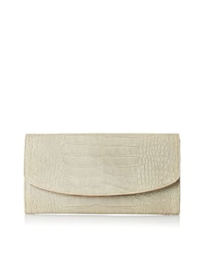 Graphic Image Women's Leather Clutch, Green
