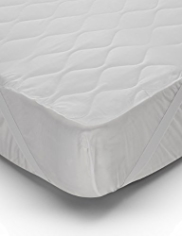 Hollowfibre Quilted Mattress Protector