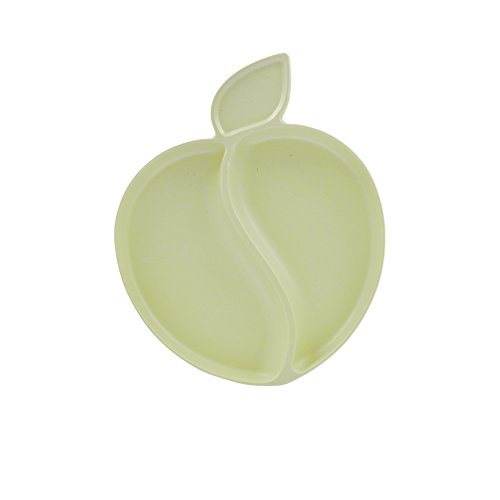 Pacific Baby Apple Plate Cream, Light Cream