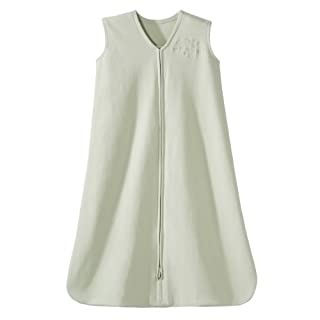 HALO SleepSack 100% Cotton Wearable Blanket, Sage, Small