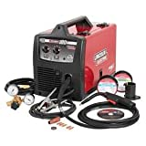 Lincoln Electric PRO-MIG 180 Welder 230-Volt MIG Flux-Cored Wire Feed Model K2481-1 (Color: Red, Black)