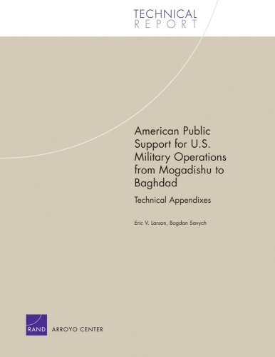 American Public Support for U.S. Military Operations from Magadishu to Baghdad: Technical Appendixes