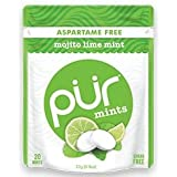 Pur Gum PUR Mints Mojito Lime Mint 20pieces x 5