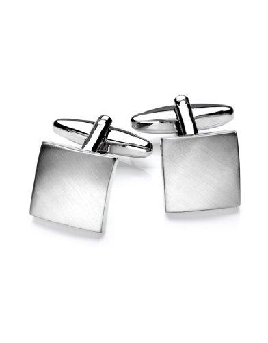 VB Cuff-Links, rhodium plated