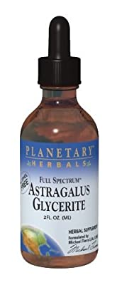 Planetary Herbals Full Spectrum Astragalus Glycerite Mineral Supplement, 2 Fluid Ounce