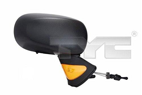 1x Specchietto esterno sinistro (lato guidatore) per Renault Modus 12/04-01/08DAPA 3280096