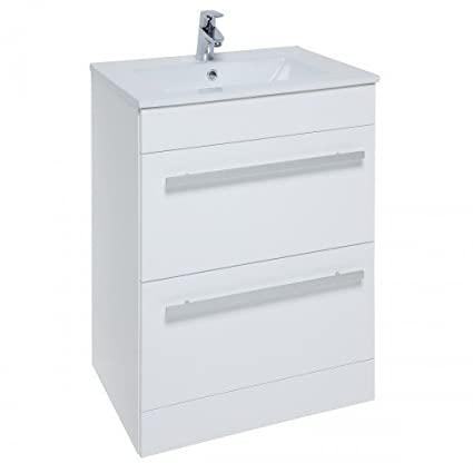 Kartell Purity 600mm Unit White Gloss @ Basin 1TH.