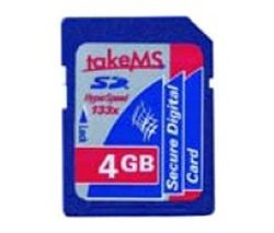 4gb SD Card by King of Flash NOT SDHC