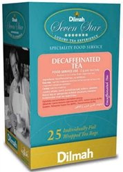 Dilmah Decaffeinated Tea (25 Individually Wrapped Tea Bags) by Dilmah Tea of Sri Lanka
