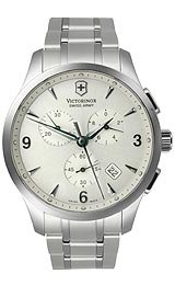 Victorinox Swiss Army Alliance Chrono Silver-Tone Dial Men's Watch #249033 at Sears.com