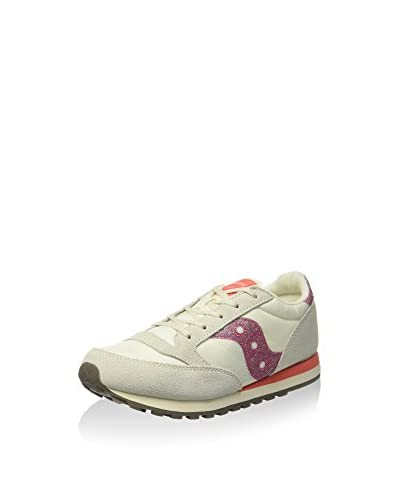 Saucony Originals Sneaker Jazz Original Kids [Panna/Fucsia]