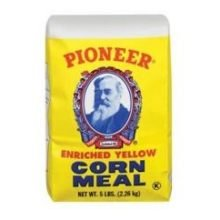 Pioneer Medium Yellow Corn Meal, 25 Pound -- 1 each. (Bulk Corn Meal compare prices)