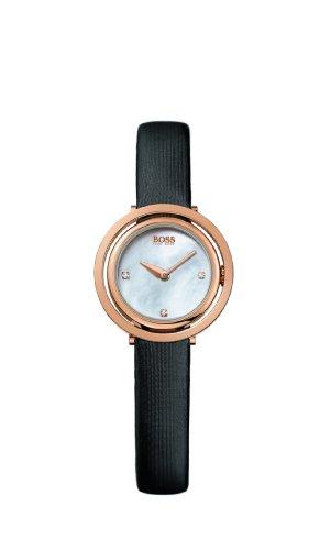 Hugo Boss 1502276 - Reloj de pulsera mujer, tela, color negro