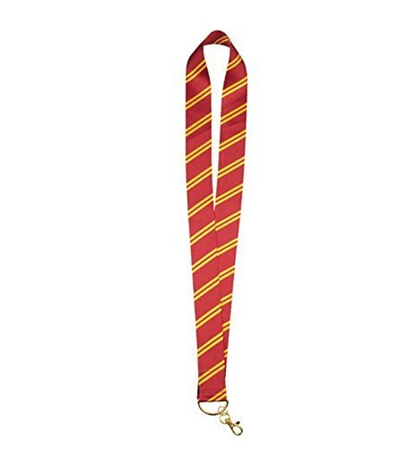 Wizarding World of Harry Potter Gryffindor Striped Tie Pin Lanyard by Wizarding World of Harry Potter