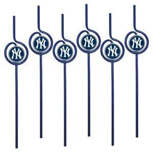 New York Yankees Team Sipper Straws