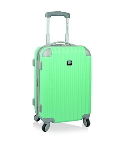 Travelers Club Modern 20 Hardside Expandable Carry-On Spinner, Turquoise