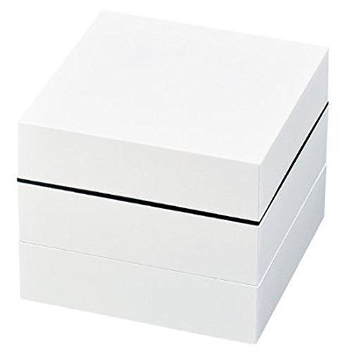 正和 『間仕切り付きの重箱』 オードブル重三段 ホワイト