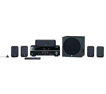 "Yamaha 5.1 Channel Home Theater In A Box With 8"" Subwoofer"