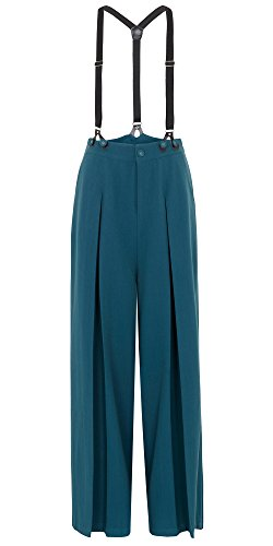 Voodoo Vixen -  Pantaloni  - Donna blu XS