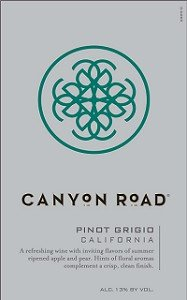 Canyon Road Pinot Grigio 750Ml