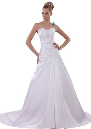 Herafa Wedding Dress Elegant NOw35100 At Amazon Womens Clothing Store