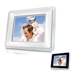 Coby DP-102 10-Inch Widescreen Digital Photo Frame with Built-In MP3 Player