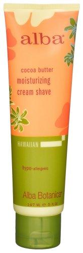 Alba Botanica Moisturizing Shave Cream, Cocoa Butter 5 OZ