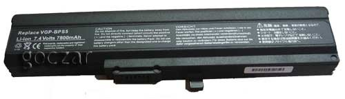 Battery for Sony VGP-BPL5A,VGP-BPS5,VGP-BPS5A