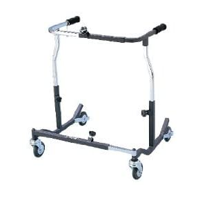 Drive Medical Bariatric Extra Heavy Duty Anterior Safety Roller, Black