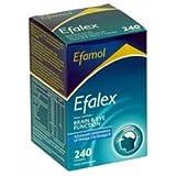 THREE PACKS of Efamol Efalex 240 Capsules