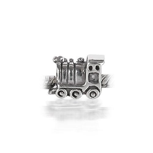 Bling Jewelry Choo Choo Train 925 Sterling Silver Bead Pandora Chamilia Style